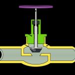 вентиль клапан запорный